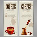 set of coffee labels, this illustration may be useful as designer work