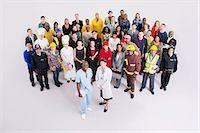 Portrait of confident workforce Stock Photo - Premium Royalty-Freenull, Code: 6113-07730687