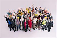 Portrait of diverse workforce Stock Photo - Premium Royalty-Freenull, Code: 6113-07730692