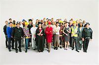 Portrait of confident workforce Stock Photo - Premium Royalty-Freenull, Code: 6113-07730730
