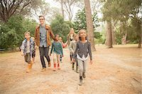 fog (weather) - Students and teachers walking outdoors Stock Photo - Premium Royalty-Freenull, Code: 6113-07731213