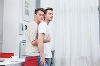 Homosexual couple embracing each other Stock Photo - Premium Royalty-Freenull, Code: 6121-07741308