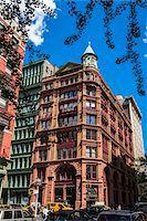 Building on Street Corner, New York City, New York, USA Stock Photo - Premium Rights-Managednull, Code: 700-07745146