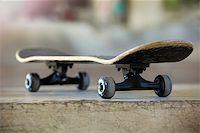 Used skateboard Stock Photo - Royalty-Freenull, Code: 400-07745537