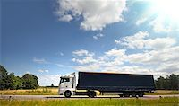 Truck on the road Stock Photo - Royalty-Freenull, Code: 400-07745612