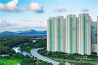 Public Estate in Hong Kong at day Stock Photo - Royalty-Freenull, Code: 400-07754611