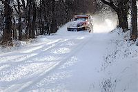 snow plow truck - A snowplow truck removing snow from a tree lined rural road on a cold winter day. Stock Photo - Royalty-Freenull, Code: 400-07759030