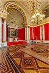 Small Throne Room, The Hermitage, St. Petersburg, Russia