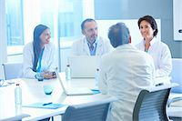 Group of researchers having meeting Stock Photo - Premium Royalty-Freenull, Code: 649-07761011
