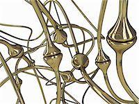 synapse - Synapses, computer artwork. Stock Photo - Premium Royalty-Freenull, Code: 679-07764866