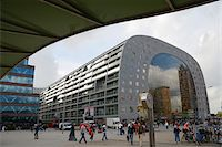 Exterior of new Markthal Rotterdam. The center of the market space is covered with a structure of residential apartments, Rotterdam, Netherlands Stock Photo - Premium Rights-Managednull, Code: 700-07783659