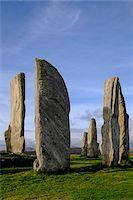 Callanish Stone Circle, a famous neolithic monument located on the Isle of Lewis in the chain of islands known as the Outer Hebrides, Scotland Stock Photo - Premium Rights-Managednull, Code: 700-07783741