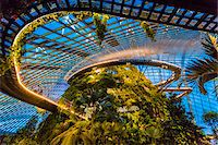 Cloud Forest conservatory, Gardens by the Bay, Singapore Stock Photo - Premium Rights-Managednull, Code: 700-07802666