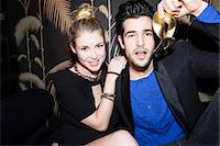 Young couple at night club Stock Photo - Premium Royalty-Freenull, Code: 632-07809539