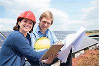 Solar energy park meeting architect client Stock Photo - Premium Royalty-Freenull, Code: 6121-07810064