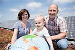 Baby parents future environmentally friendly
