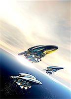 spaceship - Space tourism Stock Photo - Premium Royalty-Freenull, Code: 679-07814065
