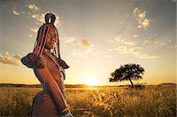 Himba woman, Kaokoland, Namib