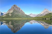 Swiftcurrent Lake, Many Glacier Area, Glacier National Park, Montana, United States of America, North America Stock Photo - Premium Rights-Managednull, Code: 841-07913911