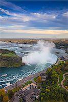 View of Horseshoe Falls, Niagara Falls, Niagara, border of New York State, and Ontario, Canada, North America Stock Photo - Premium Royalty-Freenull, Code: 6119-07943545