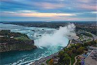 View of Horseshoe Falls, Niagara Falls, Niagara, border of New York State, and Ontario, Canada, North America Stock Photo - Premium Royalty-Freenull, Code: 6119-07943546