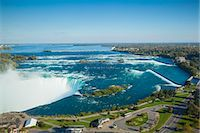 View of Horseshoe Falls, Niagara Falls, Niagara, border of New York State, and Ontario, Canada, North America Stock Photo - Premium Royalty-Freenull, Code: 6119-07943552