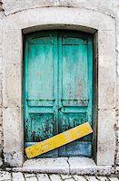 italian door in small village, Italy Stock Photo - Royalty-Freenull, Code: 400-07995482
