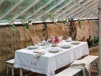 setting kitchen table - Table set Stock Photo - Premium Royalty-Freenull, Code: 6102-08001287