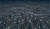 Network, conceptual illustration Stock Photo - Premium Royalty-Freenull, Code: 679-08026844