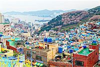 Gamcheon Culture Village, Busan, South Korea. Stock Photo - Royalty-Freenull, Code: 400-08051912