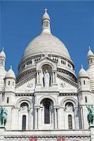 Basilique du Sacre Coeur, Montmartre, Paris, France Stock Photo - Premium Rights-Managednull, Code: 700-08059895