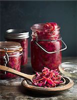 Red cabbage salad Stock Photo - Premium Royalty-Freenull, Code: 6102-08062886