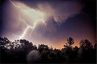 Lightning Strike, Baranja, Croatia Stock Photo - Premium Royalty-Freenull, Code: 6115-08066657