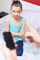 France, mother angry with daughter. Stock Photo - Premium Rights-Managednull, Code: 877-08079020
