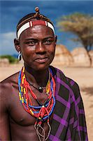 Man from Erbore tribe, Omo Valley in Ethiopia Stock Photo - Premium Royalty-Freenull, Code: 6106-08080647
