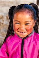 Portrait of young Sherpa girl in Everest Region Stock Photo - Premium Royalty-Freenull, Code: 6106-08080806