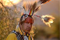 Jim Yellowhawk at Lost Dutchman State Park, Phoenix, Arizona, USA MR Stock Photo - Premium Rights-Managednull, Code: 862-08091412