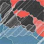 graphic a abstract background with wavy lines