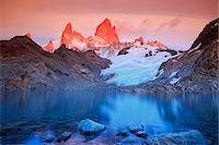 extreme terrain - Argentina, Patagonia, Los Glaciares National Park Stock Photo - Premium Royalty-Freenull, Code: 6106-08100356
