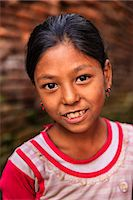 Portrait of young Nepali girl in Bhaktapur Stock Photo - Premium Royalty-Freenull, Code: 6106-08100372