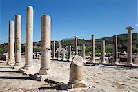 Ruined colonnaded Main Street, Patara, near Kalkan, Lycia, Antalya Province, Mediterranean Coast, Southwest Turkey, Anatolia, Turkey, Asia Minor, Eurasia Stock Photo - Premium Rights-Managednull, Code: 841-08102217