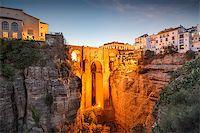 puentes - Ronda, Spain at Puente Nuevo Bridge. Stock Photo - Royalty-Freenull, Code: 400-08114981