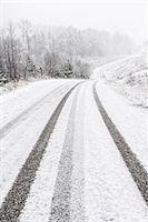 forward - Winter road Stock Photo - Premium Royalty-Freenull, Code: 6102-08120212
