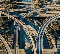 Aerial view of flyovers and multi lane highways, Los Angeles, California, USA Stock Photo - Premium Royalty-Freenull, Code: 614-08148481
