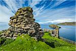 Duntulm Castle, Duntulm, Trotternish, Isle of Skye, Scotland, United Kingdom