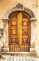 italian door in a small village, Italy Stock Photo - Royalty-Freenull, Code: 400-08188226