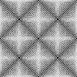 Design seamless monochrome dotted pattern. Abstract grid textured background. Vector art. No gradient