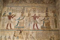 Bas-reliefs inside the Temple of Opet, Karnak Temple, Luxor, Thebes, UNESCO World Heritage Site, Egypt, North Africa, Africa Stock Photo - Premium Rights-Managednull, Code: 841-08221017