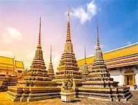 Wat Phra Chetupon Vimolmangklararm (Wat Pho) temple, Bangkok, Thailand. Stock Photo - Royalty-Freenull, Code: 400-08221914