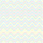 Colorful pastel vector simple seamless wavy line pattern